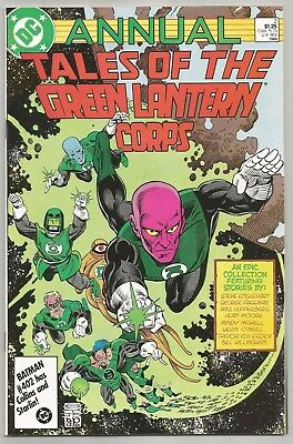 Tales of the Green Lantern Corps Annual #2! Near Mint/Mint Condition 9.8!