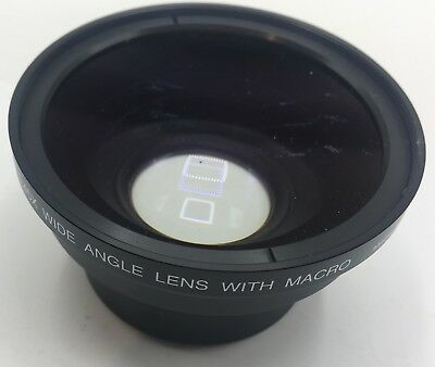 Digital High Definition 0.45x Wide Angle Camera Lens With Macro Free Shipping