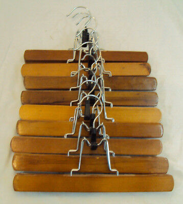 Wood Pant Or Skirt Hangers (9) Wood shirt Hangers (13) 22 Total Clothes Hangers