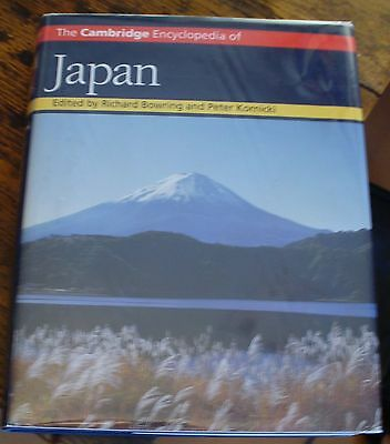 The Cambridge Encyclopedia of JAPAN 1993 First BOWRING Free US Shipping NICE