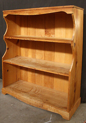 """30""""x36"""" Vintage Solid Wood Wooden China Dish Curio Display Shelf Pantry Hutch"""