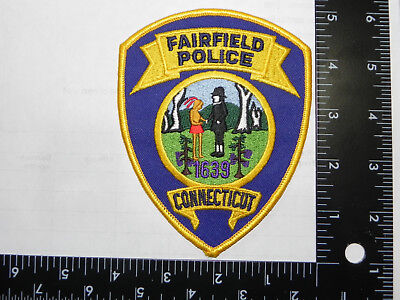 Patch- Fairfield, Connecticut,  Police