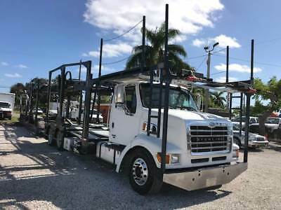 2008 Sterling L9500 Daycab 10 Car Carrier Boydstun Screw Actuator 435HP 10 Speed