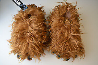 Star Wars Chewbacca Slippers With Sound by ThinkGeek, Size Medium (Men's 9-11)