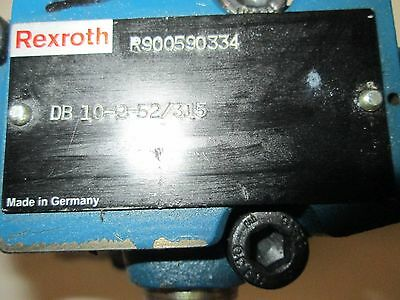 Rexroth DB 10-2-52/315 Hydraulic Presure Relief Valve Pilot Operated