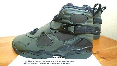 separation shoes 029fd a11cf NIKE AIR JORDAN Viii 8 Undefeated Take Flight Green Orange Sz 4Y