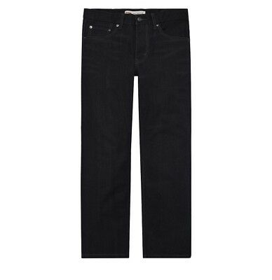 NWT Boy's Levi's 550 Relaxed Straight Leg Jeans Dark Charcoal