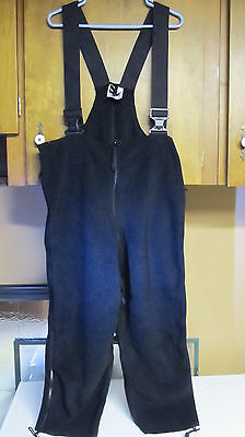 Us Army / Usmc Fleece Polartec Overalls Bibs Military Cold Weather S M L Xl 2Xl