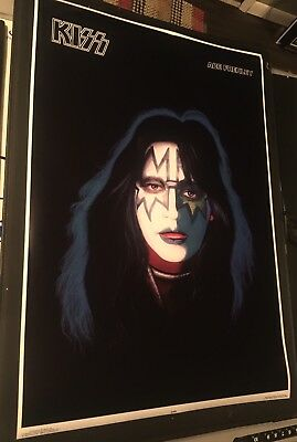 Reproduction Kiss Ace Frehley Solo LP Poster from 1978