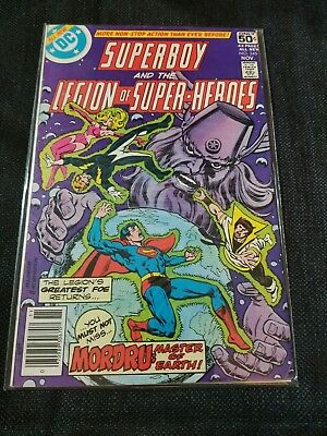 Superboy And The Legion Of Super-Heroes #245 1978 Dc Bronze Age!
