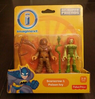 Imaginext DC Super Friends Scarecrow and Poison Ivy 2 pack
