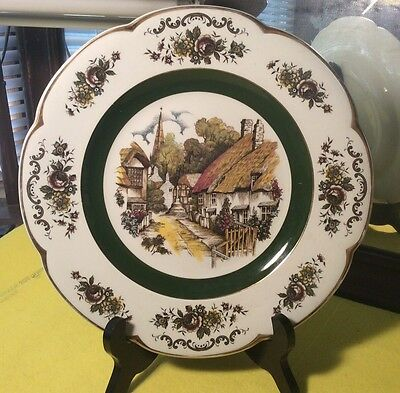 "Ascot Service Plate By Woods And Sons England 10 1/2"" Wall Plate"