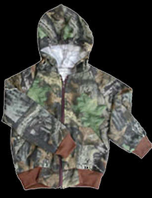Youth - Jackets/Pullovers J21-MOBU-0/6M Sweat Jacket Mossy Oak Breakup 0 - 6 Mo.