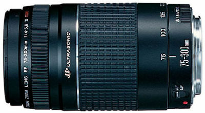 NEW! Canon EF 75-300mm f/4.0-5.6 III Lens (6473A003)