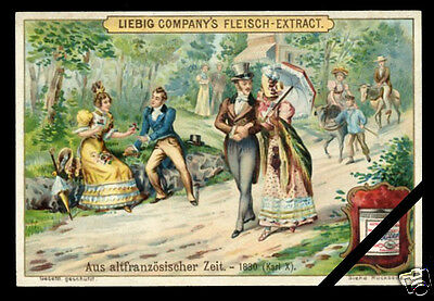 Victorian Trade Card 1902 LIEBIG Antique Chromolithograph Old Advertising