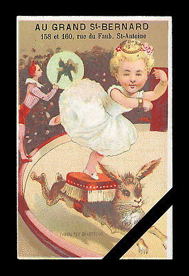 Rare French Victorian Trade Card: Est. Early 1900's