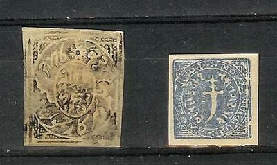 Indien   Staaten   India   States   Victoria  Old  Stamp   Selection