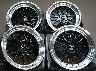 "Alloy Wheels X 4 18"" Black Rt Fits Mercedes A B C E R Class G Gla Gle Vito"