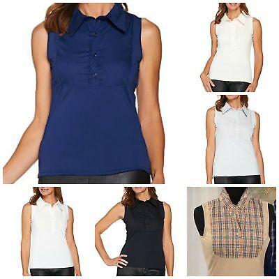 Kathleen Kirkwood Dictrac-Ease Point Collar Camisole A286021