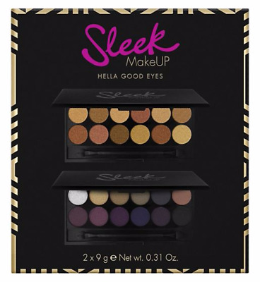 Sleek I-Divine Eyeshadow Palettes Gleaming In Gold Vintage Romance Gift Boxed