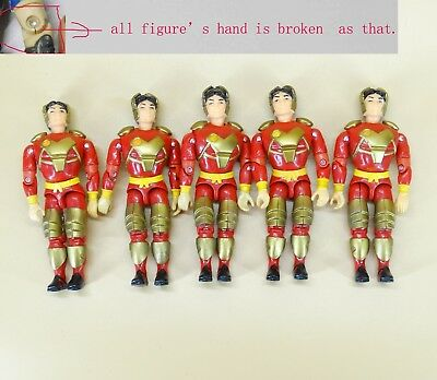lot of 18 The Corps Special Forces lanard action figure random hand  broken