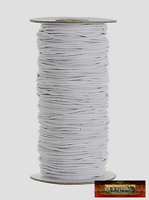 M00414 MOREZMORE Round Elastic Cord Ball Jointed Doll BJD 2mm White 72Y A60