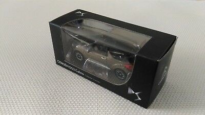 Voiture Miniature Norev « DS3 Cabrio Collection 3 Inches Marron Noir » 2012 TBE.