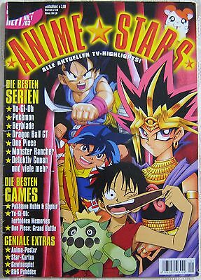 Magazin ANIME STARS Nr. 1 2003 Yu-Gi-Oh Pokémon Dragon Ball GT