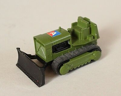 Matchbox Lesney Superfast MB 16 Case Tractor - Military Issue
