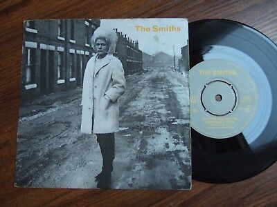 THE SMITHS - HEAVEN KNOWS I'M MISERABLE NOW  - 1st PRESS LABEL ERROR RT156/1984