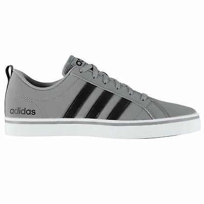 adidas Mens Gents Pace VS Nubuck Trainers Shoes Footwear Laces Ankle Collar