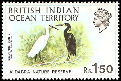 British Indian Ocean Territory #39-42 set MNH VF