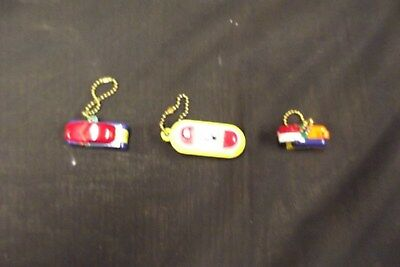 3 VINTAGE KEYCHAIN PUZZLES 1950s/1960s