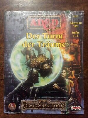 Tsr Ad&d Advanced Dungeons & Dragons Vr2 Der Turm Der Träume Ovp Neu