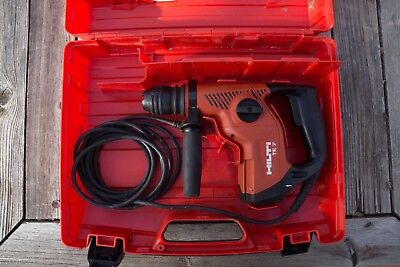 Hilti TE 7 SDS Plus Rotary Hammer Drill W / Hard Case. Exc. Cond.