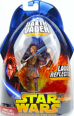 Darth Vader Lava Reflection Star Wars Revenge Of The Sith Collection 2005 Hasbro