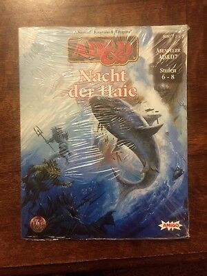 NEU! Nacht der Haie AD&D Advanced Dungeons & Dragons 8007 TSR Amigo 7 OVP!