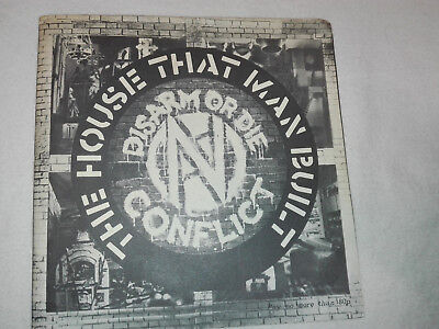 CONFLICT-The House That Man Built E.P. CRASS, SUBHUMANS, ICONS OF FILTH, G.B.H.
