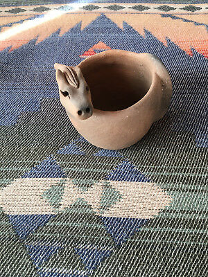 HORSE TAOS PUEBLO Micaceous Clay Pottery by J. MARCUS