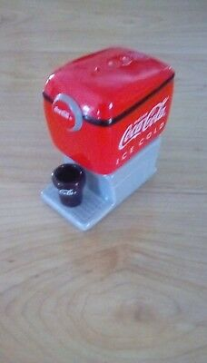 Coca-Cola Salt & Pepper Shaker Stackable Soda Fountain New With Box