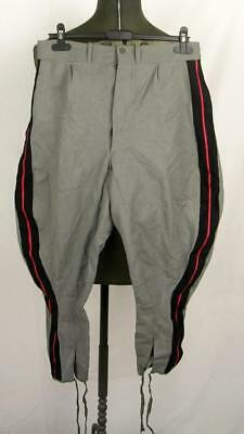 Ww2 Wwii Italy Fascist Army Infantry Officer Field Breeches Trousers Red Piping