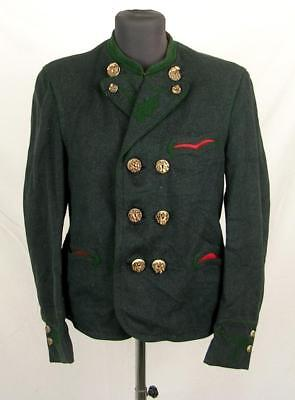 Ww2 Wwii Era German Schutzen Gebirgsjager Tunic Jacket With Horn Buttons #3
