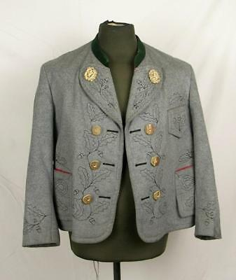 Ww2 Wwii Era German Schutzen Gebirgsjager Tunic Jacket With Horn Buttons #2