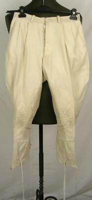 Ww2 Italy Africa Fascist Army Officer Colonial White Field Breeches Trousers