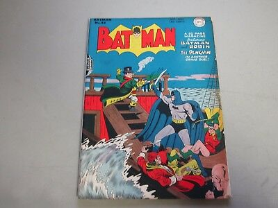 Batman #43 Comic Book 1947   Penguin Cover
