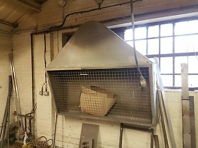 Extractor hood, linishing, grinding, painting, booth