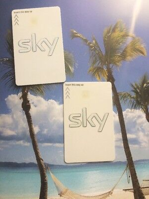 FREESAT  SKY HD VIEWING CARD INCLUDES SONY MOVIE CHANNELS! Free Post!
