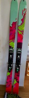 K2 Potion 98ti 177cm Freeride Ski Incl Felle