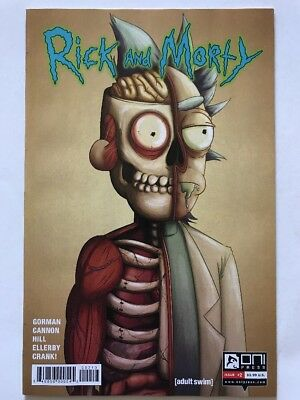 RICK AND MORTY #2 3rd Ptg Variant, ONI (2015) NM