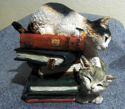 Country Artists Kittens Playing on Books (No. 01449 -- NO BOX)